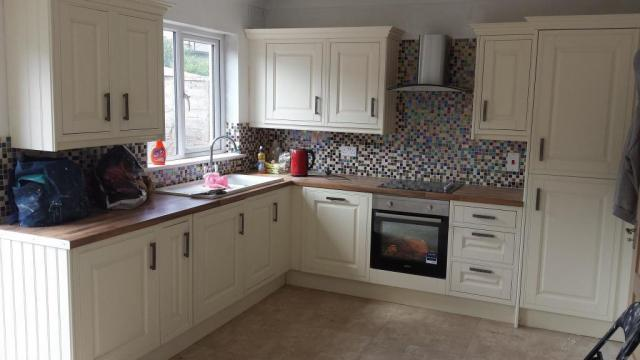 latest project for kitchen installation birkenhead
